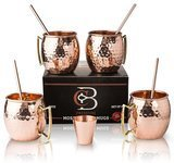 Copper-Bar Moscow Mule Mugs