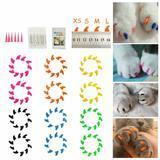 Dadiii Soft Cat Nail Caps, 120 pieces