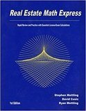 Real Estate Math Express Rapid Review and Practice