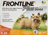 Frontline Plus Treatment for Small Dogs & Puppies (up to 22 lbs.)
