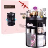 EMOCCI Makeup Organizer 360 Rotating Cosmetics Storage Box